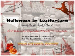 Halloween im Luziferturm
